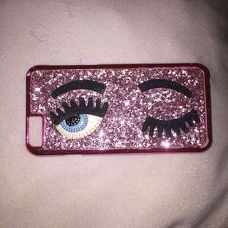 Glittery Pink Chiara Ferragni iPhone 6/6s case