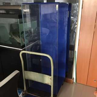 Christmas Sales Crystal Fish Tank 4ft x 1.5ft x 1.5ft (No cabinet / No stand)