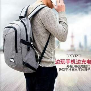 High Quality, Waterproof, USBconnector Backpack