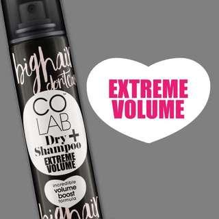 Dry shampoo extreme volume