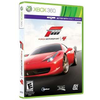 Forza Motorsport 4 & other Xbox Games