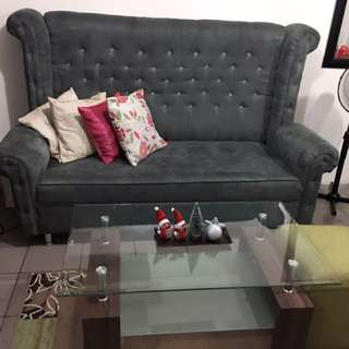 Sofa for sale dark gray