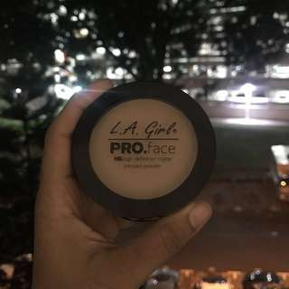 LA girl matte finishing powder