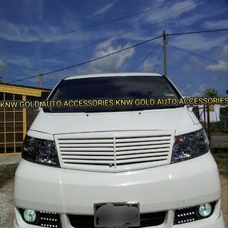 Toyota Alphard ANH10 Original LX Mode Body Parts