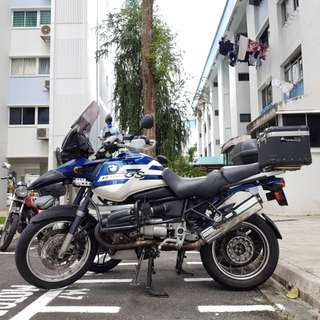 BMW R1150GS perfect for touring