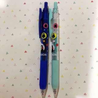Sarasa kumamon pen set