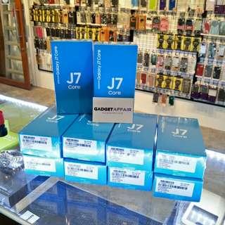 Samsung J7 Core Black and Gold Colors (Export Set)