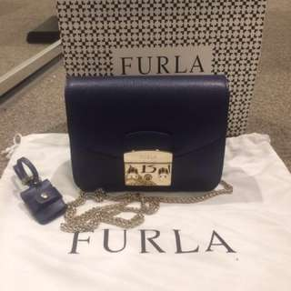 Furla crossbody Navy
