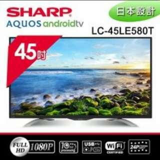 SHARP 45吋液晶電視
