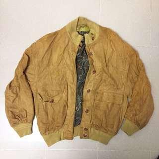 【倫敦購入】古著猄皮褸 vintage suede Jacket