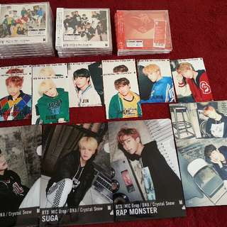 WTS BTS DNA CRYSTAL SNOW JAPAN ALBUM