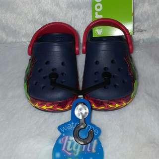 Crocs Kids Light Up Fire Dragon Clog