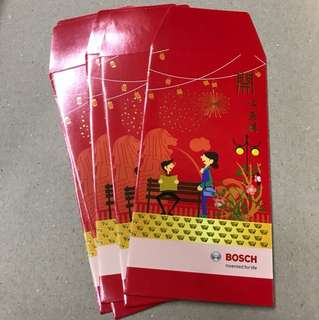 Bosch red packets