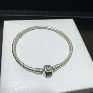 Pandora潘朵拉 925純銀手鍊 蛇鍊