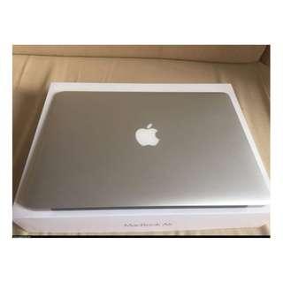 APPLE MacBook Air 13 i5-1.6 8G 近全新 保固至2018三月 螢幕保護貼