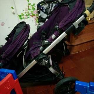 Baby jogger city select 雙人推車(紫色)0
