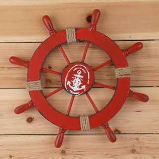 Nagivation wheel stir kapal roda navigasi perlengkapanmelaut