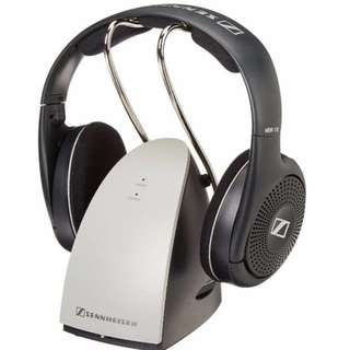Sennheiser RS120 On-Ear  RF TV Headphones with Charging Dock