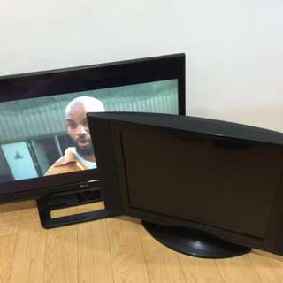 2 tv for sale RUSH very cheap READ ADD PLS