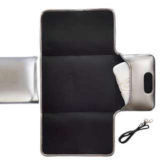 Jellystone Changing Mat Clutch - Silver