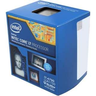 Intel Core i7-4790 Haswell Quad-Core 3.6 GHz LGA 1150 Desktop Processor Intel HD Graphics 4600