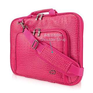 "Pink Laptop Bag or Macbook Case,  Macbook 15"" Bag Imported"
