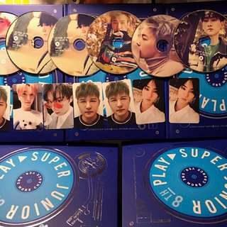 Super Junior Play 8th Album 八輯