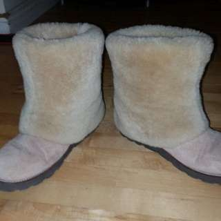 Genuine ugg sheepskin women's boots