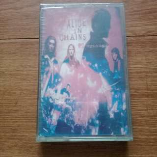 *sealed* Alice in Chains  Unplugged cassette tape