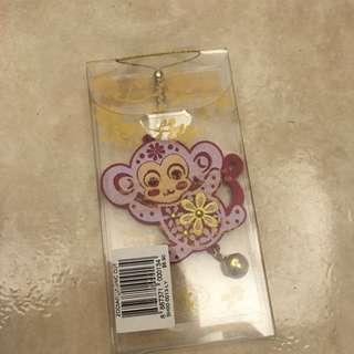 小猴子鑰匙圈