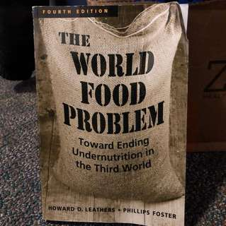 FARE*1300 The World Food Problem, 4th edition