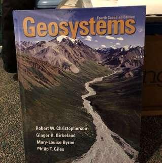 GEOG*1300 Geosystems, 4th Canadian edition