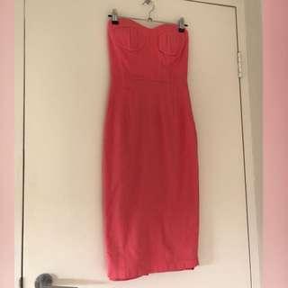 Bardot - strapless dress