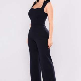 BRAND NEW- Navy Jumpsuit