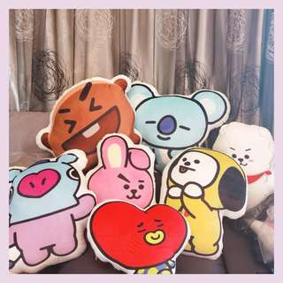 BTS BT21 50-59cm Pillow