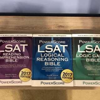 LSAT 2017 Powerscore Bible Trilogy