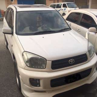 Rav4 1.8 vvti sunroof 04