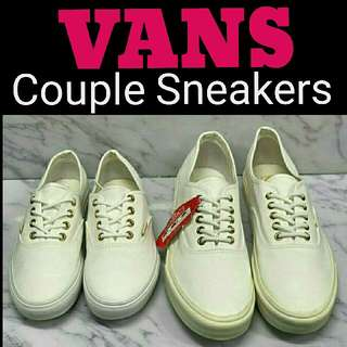 🎄 Couple Sneakers Parade  🎁 Great Gift Idea   🔖 Php2,000 only! ➡ Couple Sneakers  🔖 Php1,000 only! ➡ per pair   VANS BASICS SNEAKERS  📍REPLICA, High Quality, Made in Vietnam  📍Pre-order