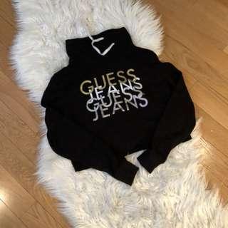Guess crop hoodie