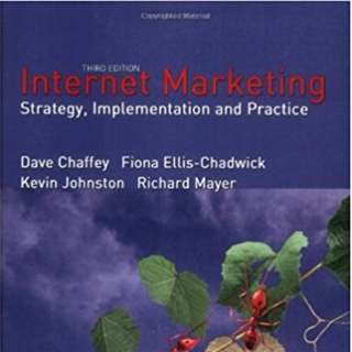 Internet Marketing - Strategy, Implementation and Practice 3rd Edition