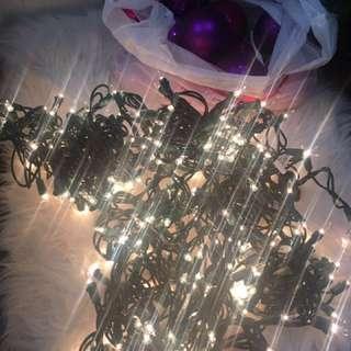 Christmas lights-300 lights and ornaments