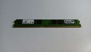 Kingston RAM 8GB 1600 Mhz DDR3 D1G64K110