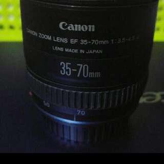 佳能镜头 35 -70mm