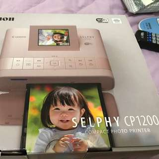 Canon SELPHY CP1200粉色