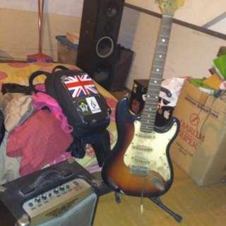 Gitar listrik sound