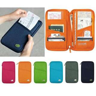 Travel Passport holder , ID , card and cash holder