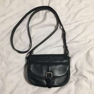 danier leather cross body purse