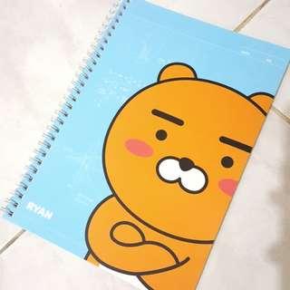 (NEW) Original Kakao Friends Ryan Notebook