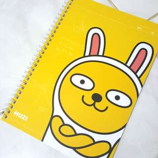 (NEW) Original Kakao Friends Muzi Notebook