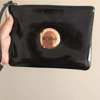 Black Mimco with Rose Gold
